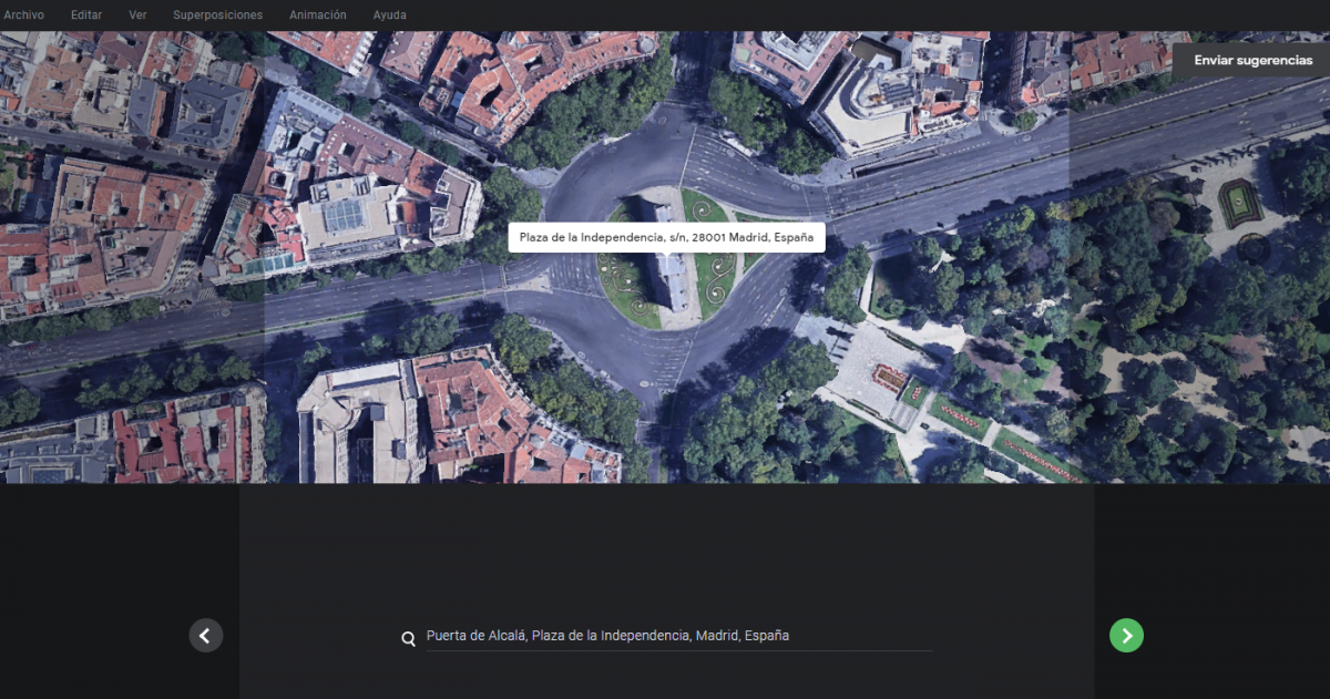 Google Earth Studio: a filming drone in your hands
